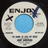 Jimmy Armstrong - I'm going to lock my heart - Enjoy - PROMO - Ex (wol)
