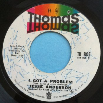 Jesse Anderson - I got a problem - Thomas - Ex-