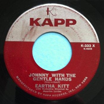 Eartha Kitt - Johnny with the gentle hands - Kapp - Ex