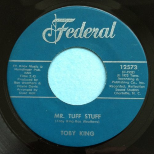 Toby King - Mr tuff stuff - Federal - Ex