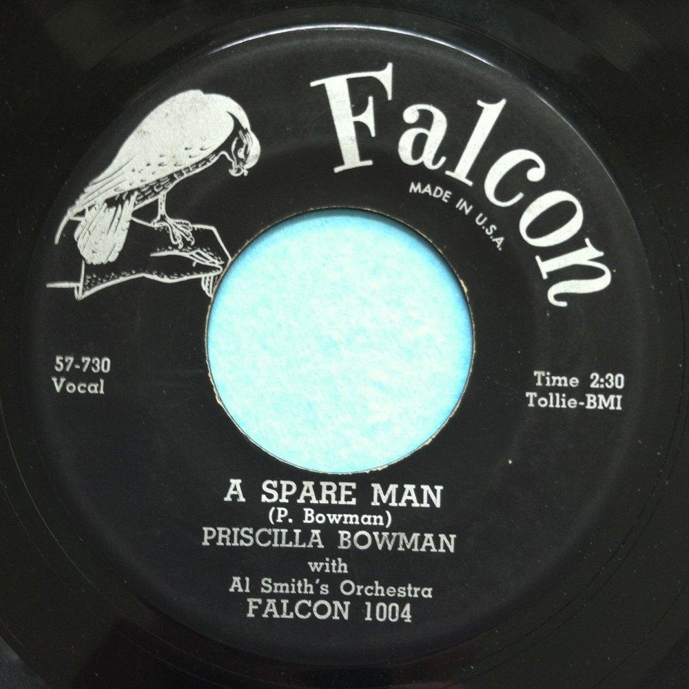 Priscilla Bowman - A spare man - Falcon - Ex-