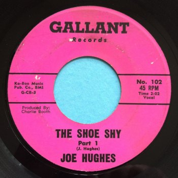 Joe Hughes - The shoe shy Pt 1 - Gallant - Ex