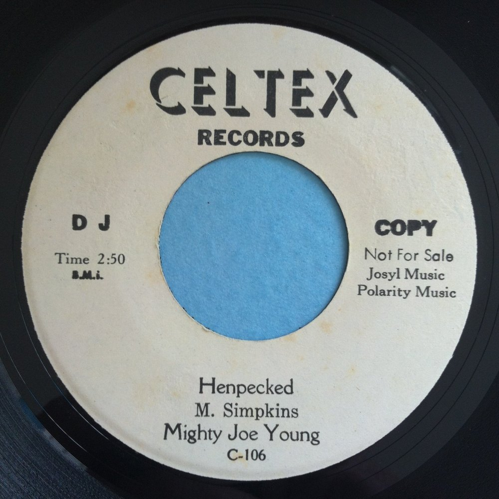 Mighty Joe Young - Henpecked - Celtex - Promo - Ex