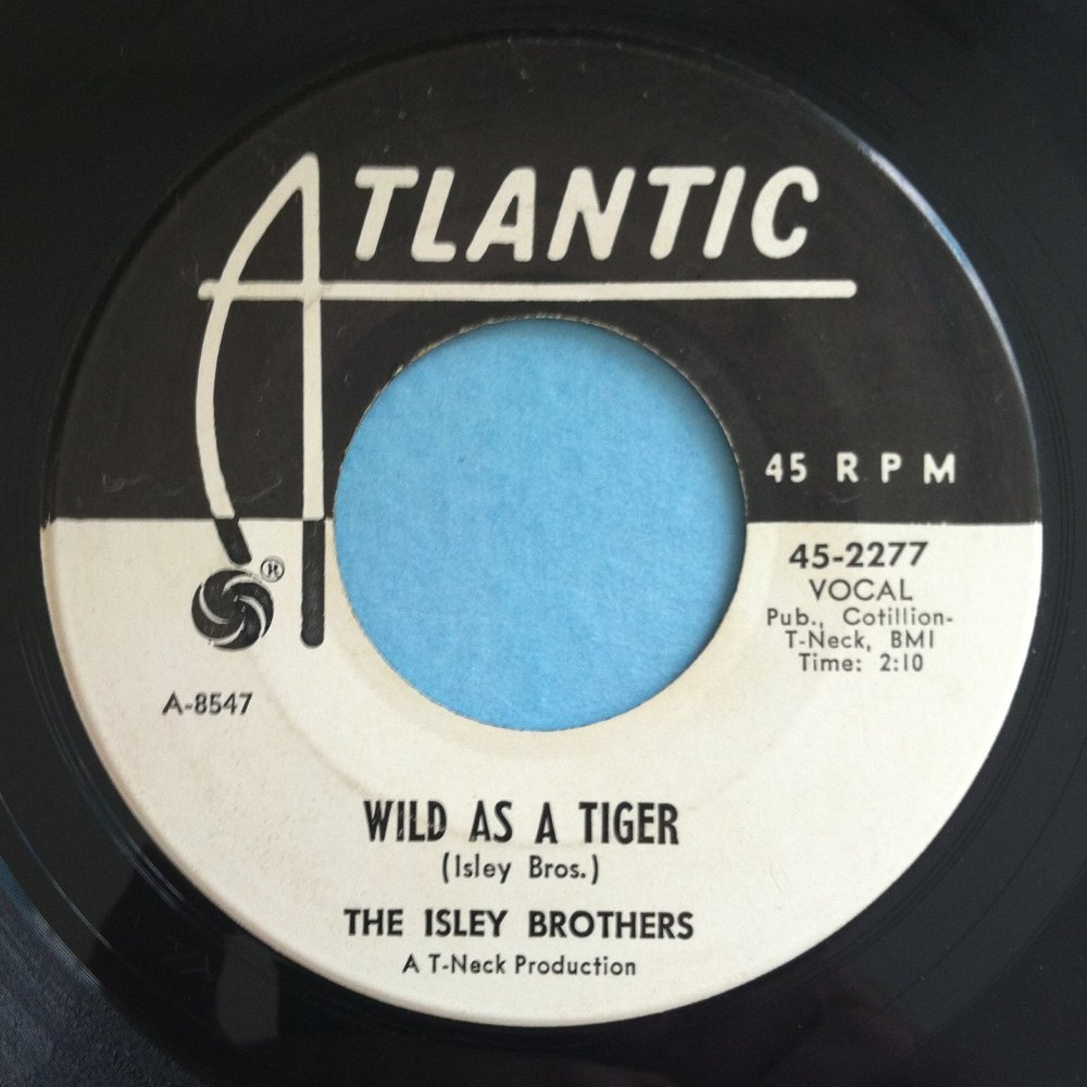 Isley Brothers - Wild as a tiger - Atlantic - Promo - M-