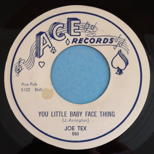 Joe Tex - You little baby face thing - Ace - Ex