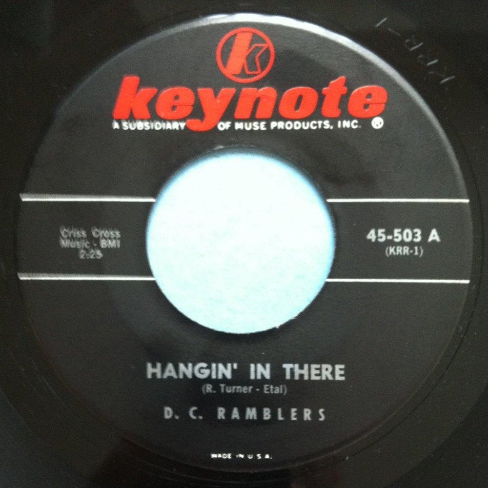 DC Ramblers - Hangin ' in there - Keynote - Ex