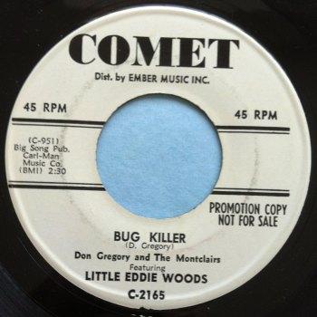 Little Eddie Woods - Bug Killer - Comet - Promo - Ex