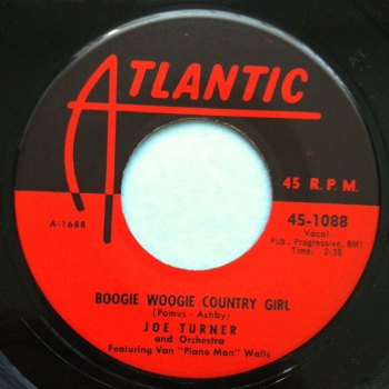 Joe Turner - Boogie Woogie Country Girl - Atlantic - Ex