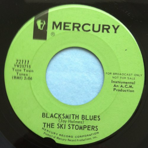Ski Stompers - Blacksmith blues - Mercury - Promo - Ex (wol)