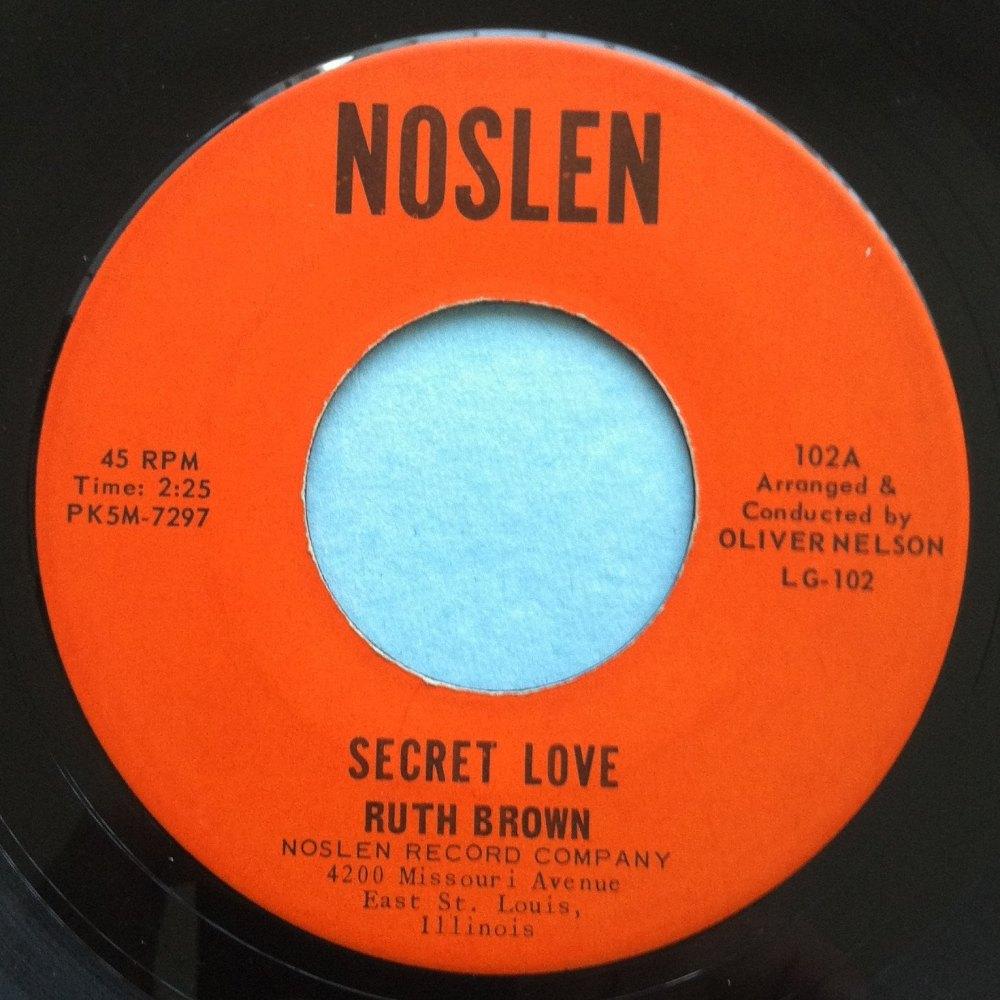 Ruth Brown - Secret Love - Noslen - Ex