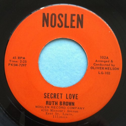 Ruth Brown - Secret Love - Noslen - Ex