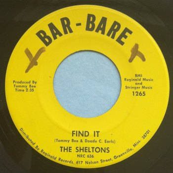 Sheltons - Find it - Bar-Bare - VG+