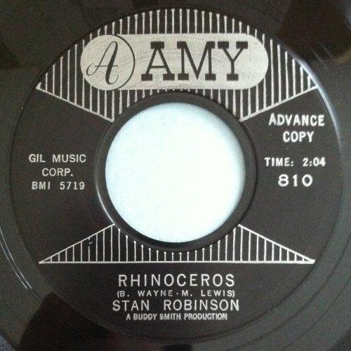Stan Robinson - Rhinoceros - Amy - Ex