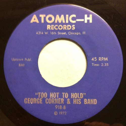 George Conner & his band - Too hot to hold - Atomic-H - M-