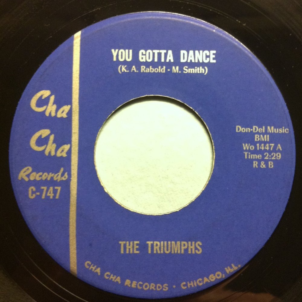 Triumphs - You gotta dance - Cha Cha - Ex