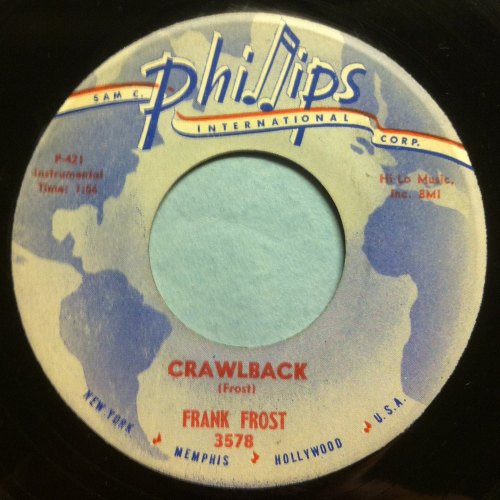 Frank Frost - Crawlback - Phillips International - Ex