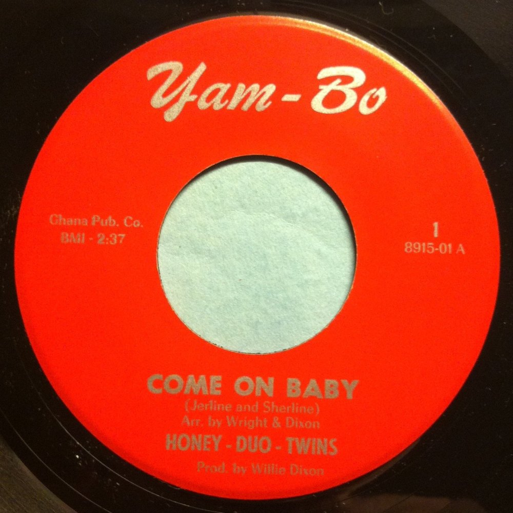 Honey-Duo-Twins - Come on baby - Yam-bo - Ex