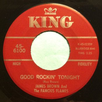 James Brown - Good rockin' tonight - King - Ex