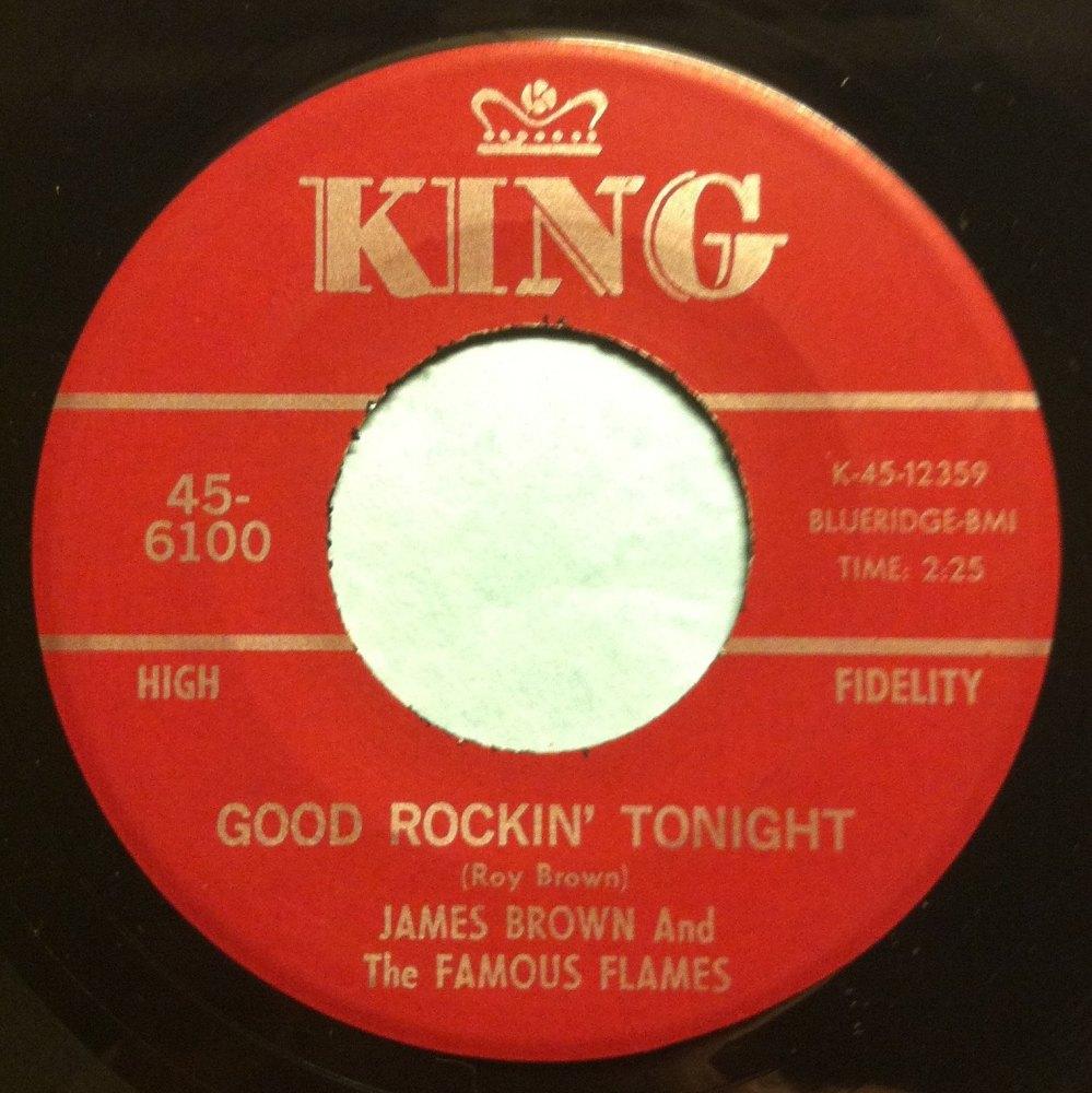 James Brown - Good rockin' tonight - King - Ex