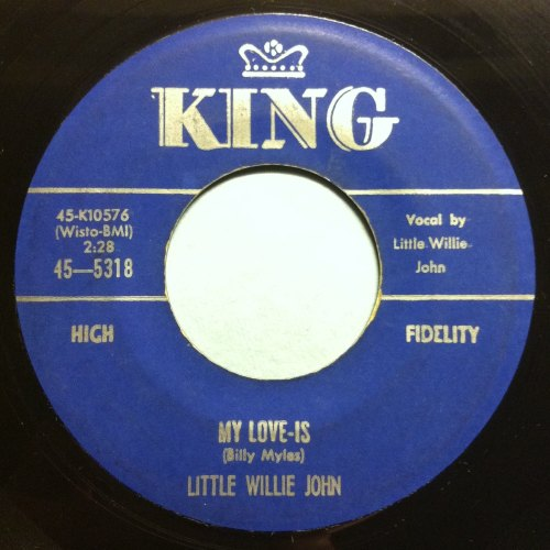 Little Willie John - My Love-Is - King - Ex