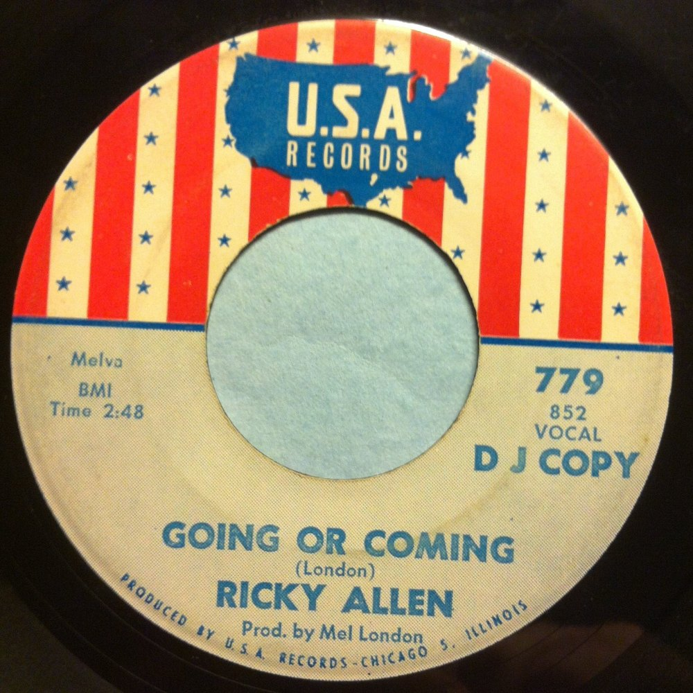 Ricky Allen - Going or coming - USA - VG+