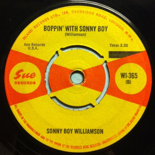 Sonny Boy Williamson - Boppin' with Sonny - UK Sue - VG+