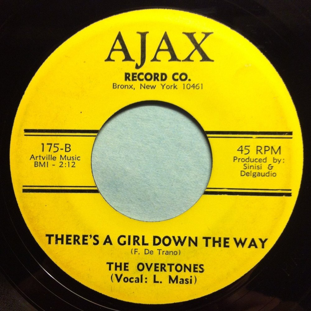 Overtones - There's a girl down the way = Ajax - Ex-