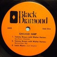 Tommy Brown - Southern Women - Black Diamond 6 track 'Chicago Harp' E.P. - Ex