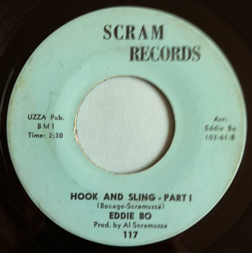 Eddie Bo - Hook and sling Pt 1 - Scram - Ex