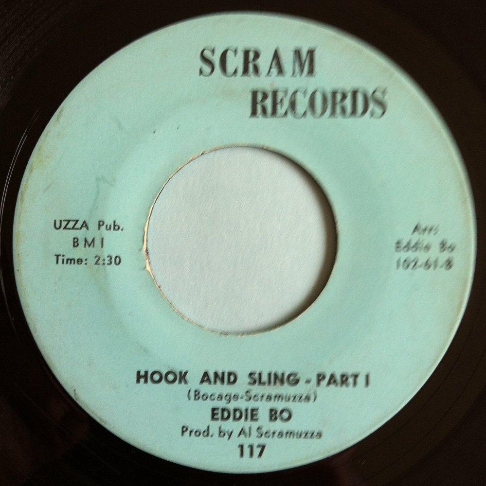 Eddie Bo - Hook and sling Pt 1 - Scram - Ex