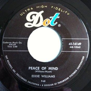 Eddie Williams - Peace of mind - Dot - M-