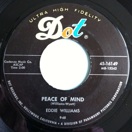 Eddie Willams - Peace of mind - Dot - M-