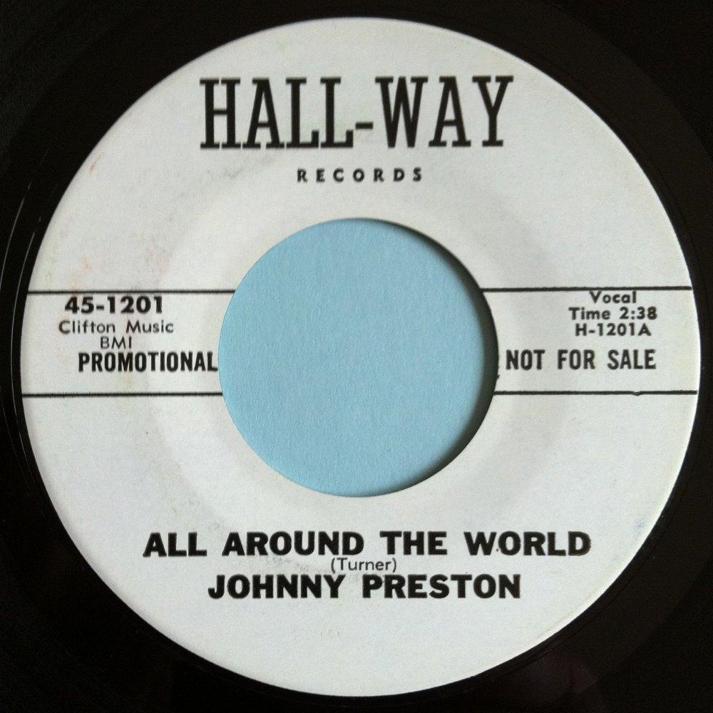 Johnny Preston - All around the world - Hall-Way promo - M-