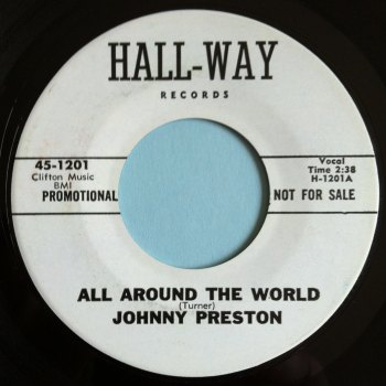 Johnny Preston - All around the world - Hall-Way promo - M-
