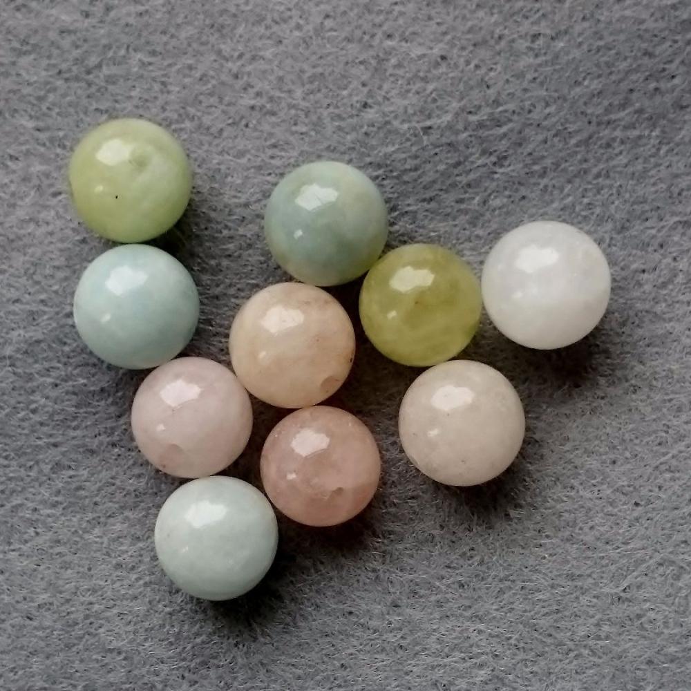 Morgganite bead 8mm