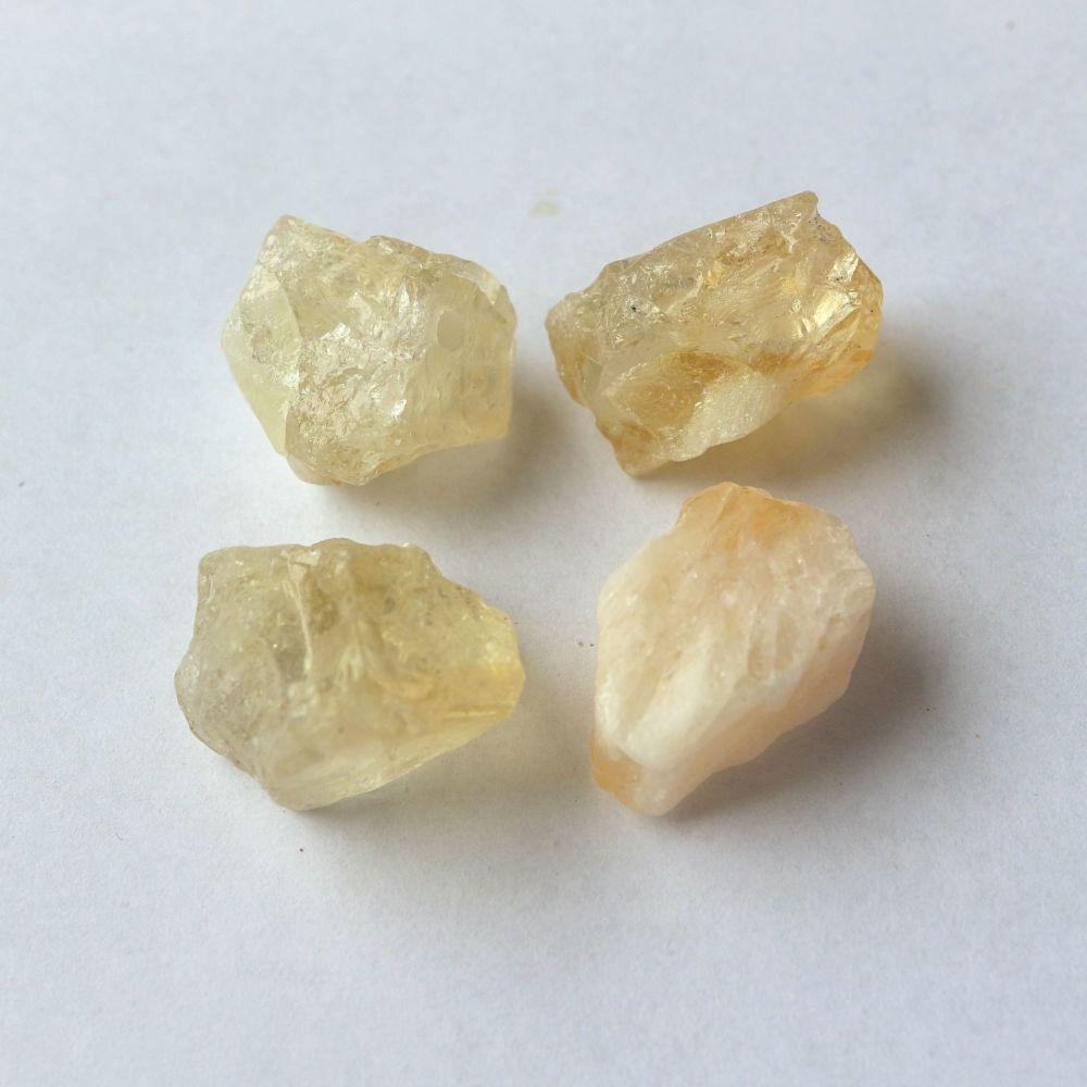 1 Natural Citrine nugget / bead