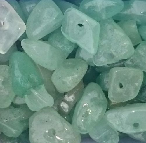 Green Aventurine chips 5-8mm 20g