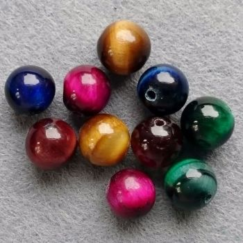 Root ChakraTigers Eye Bead 8mm