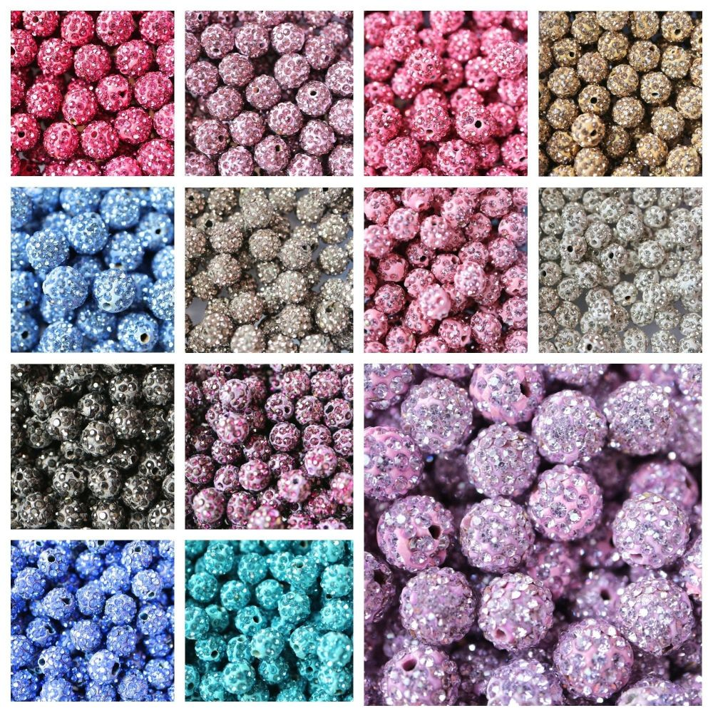 Pave beads