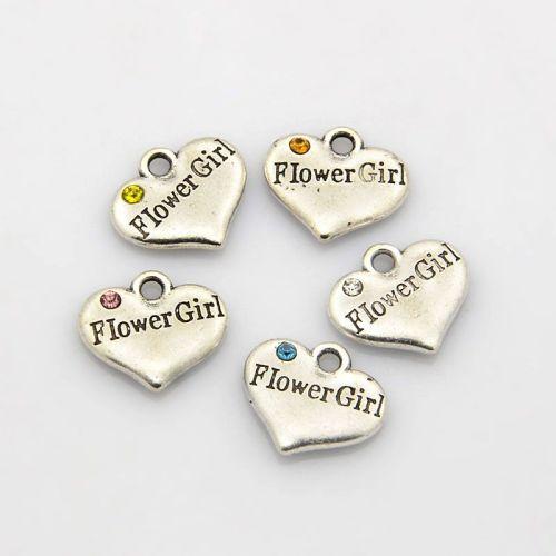Flower Girl Charm