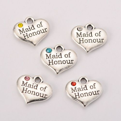 Maid of Honour Charm