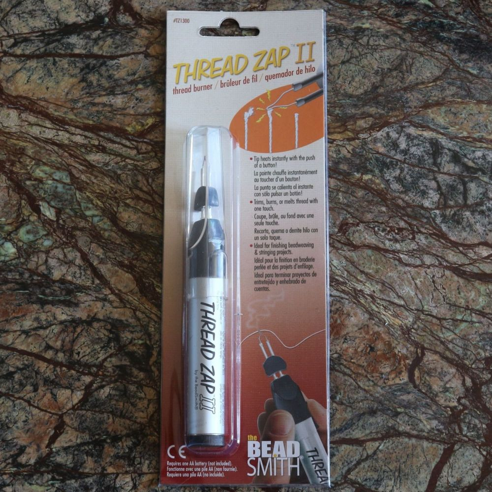 The BeadSmith Thread Zap II Best Seller Battery Operated 1200V