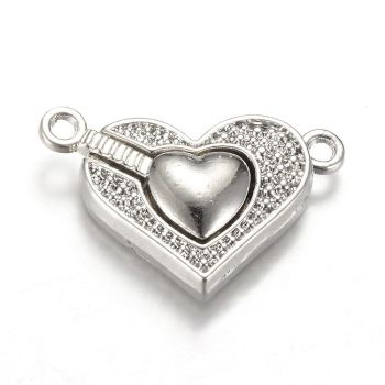 1 Heart Magnetic Clasp