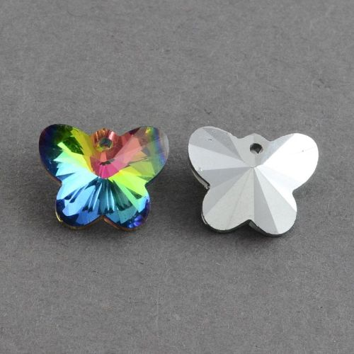 1 Butterfly Colourful Pendant