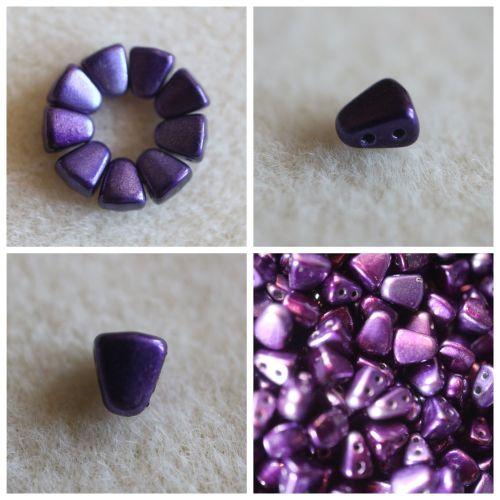 1 NIB-BIT 6X5MM METALUST PURPLE bead