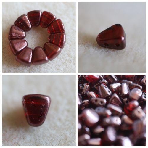 1 NIB-BIT 6X5MM RUBY VEGA  bead