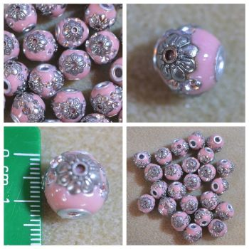 Indonesia Pink Bead