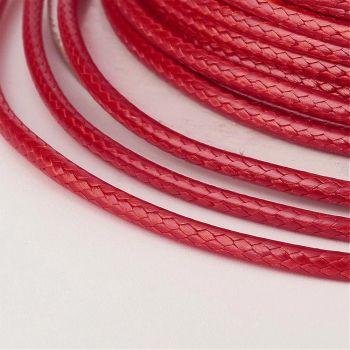 Waxed Thread Red