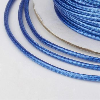 Waxed Thread Blue