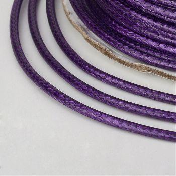 Waxed Thread Purple